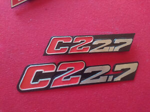 Bmw Alpina E30 C2 2 7 325i Badge Emblem Set