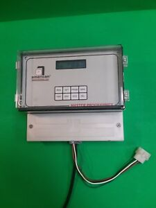 American Time Ymp04 Master Clock With 4 Bell Circuits 1 Clock Circuit Used