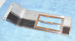 1965 1966 Mustang Fastback Coupe Convertible Orig A t Console Shift Plate Bezel