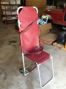 Ferno Combination Stretcher Stair Wheeled Chair Gurney Emergency Evacuation Seat