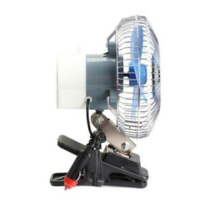 6 Inch Car Oscillating Fan Clip On Cooling Fan For Boats Off Road Equipment Cars