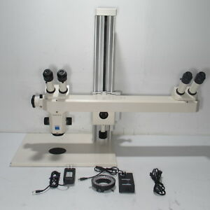 Zeiss Stemi Sv6 Stereo Microscope W Teaching discussion Attachment
