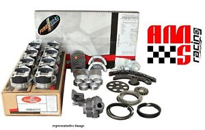 Rebuild Overhaul Kit For 1987 1992 Chevrolet 5 7l 5 7 350 V8 Flat Top Pistons