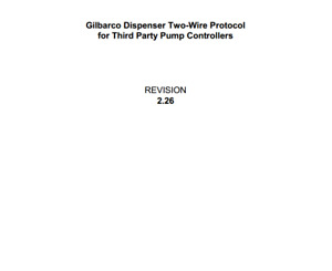 Gilbarco Dispenser Twl Two wire Communication Protocol