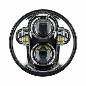 Oracle Lights 6913 504 Replacement 5 75 Round Led Projector Headlight Chrome