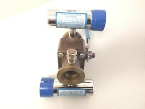 Granville phillips Company 275 Convectron Gauge Sensor With Ball Valve Assy