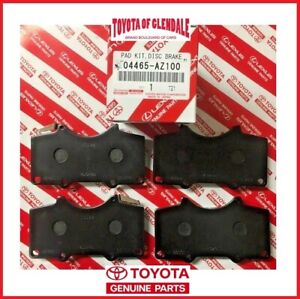 2005 2020 Toyota Tacoma Front Ceramic Brake Pads Genuine Oem New 04465 Az100