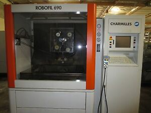 2003 Charmilles Robofil 690 Wire Edm Sodick Agie Video Perfect Machine