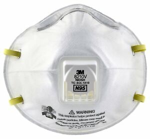 3m Particulate Respirator 8210v N95 Respiratory Protection All Free Shipping