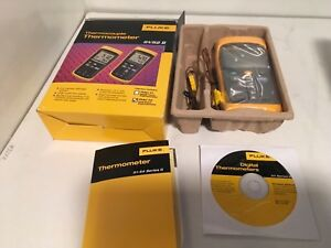 Fluke Thermocouple Thermometer 51 52 Ii Nib