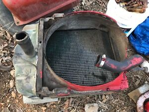 Ih Farmall International 350 Radiator Off Running Tractor