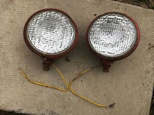 Ih Farmall International 460 560 Working Front Head Lights 12v
