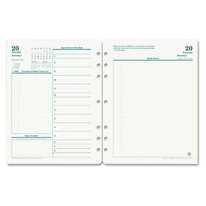 Original Dated Daily Planner Refill January december 8 1 2 X 11 2019