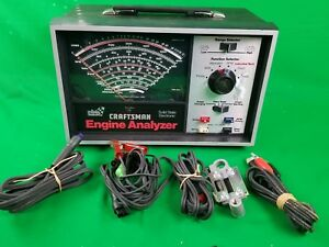 Sears Solid State Electronic Auto Engine Analyzer For 12v Cars Model 161 214230