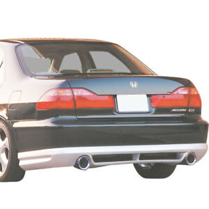 Xenonpart_4154 Xenon Urethane Rear Lip Valance Sedan For Accord Honda 98 02
