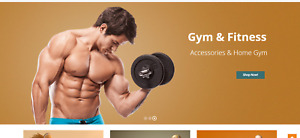 Automated Fitness Affiliate Store High Income Potential Business Website
