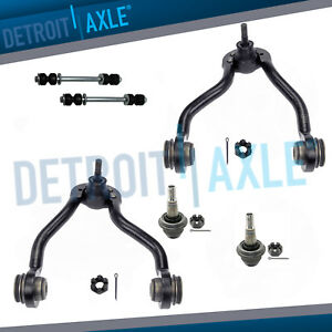 Front Upper Control Arm Ball Joints Sway Bars 96 00 K1500 Suburban Tahoe Gmc 4wd