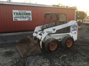 2002 Bobcat 763g Skid Steer Loader Coming In Soon