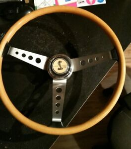 67 Shelby Gt350 New Wood Steering Wheel Horn Button The Company Of Effpi Repo