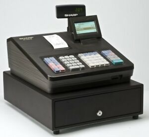 Sharp Xea207 Xe a207 Cash Register 2500 Lookups 99 Dept 25 Clerk