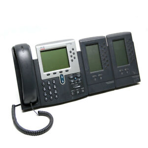Cisco 7962g Voip Business 7962 Series Unified Ip Phone W 7915 Extension Modules