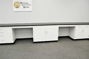 22 X 15 Fisher American Base Laboratory Cabinets Casework Benches Tops
