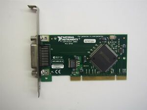 National Instruments 188513b 01 Pci gpib Ieee 488 2 Interface Card