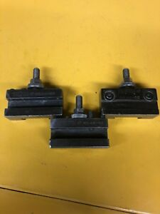 Excellent Armstrong Usa Made Axa Quick Change Tool Post Lot