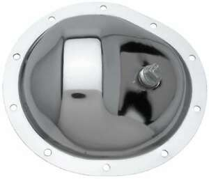 Trans dapt Differential Cover Chrom E Gm Truck 10 Bolt Front P n 9069