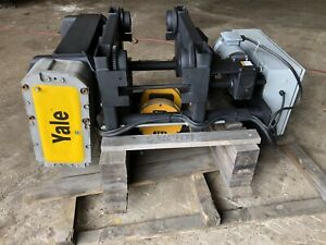 Yale Shaw Box World Series 7 5 Ton Monorail Electric Wire Rope Hoist