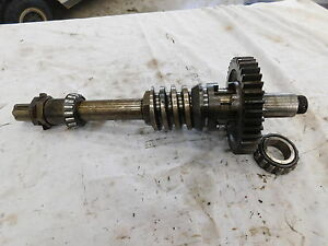 1949 Oliver 70 Pto Belt Pulley Power Lift Drive Gears And Shaft Antique Tractor