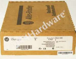 New Allen Bradley 1747 l532 Series E Slc 500 Slc 5 03 Cpu Dh 485 rs232 Fw 10