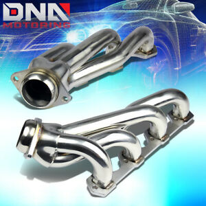 Stainless Steel Shorty Header For 94 95 Mustang Gt 5 0 V8 8cyl Exhaust Manifold