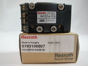 New Bosch Rexroth 0793106807 Valve Body 5 2 Double Solenoid