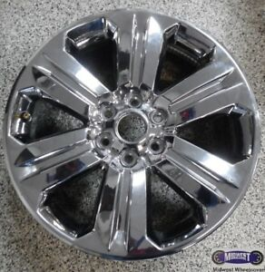 R 15 16 Ford F150 Used Chrome Rim 20x8 1 2 6 Lug 135mm 6 Spoke 10004