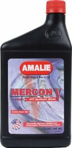 Amalie 62856 56 Mercon V Synthetic Blend Automatic Transmission Fluid 1