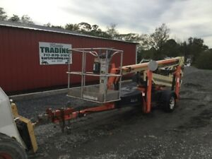 2007 Jlg T350 35ft Electric Towable Boom Manlift