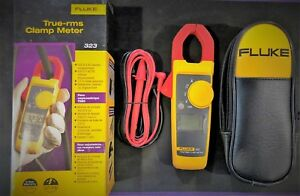 Fluke 323 True rms Clamp Meter Ac Current To 400 Amp Ac Dc Voltage To 300v New