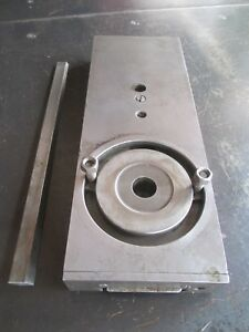 Monarch 10ee Toolroom Lathe Cross Slide Assembly Gib Plate Free Shipping