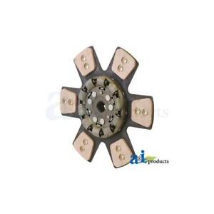 393117r93 Clutch Disc For International Tractor 1066 1086 1206 1256 1456 1466