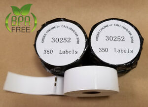 18 Rolls 4xl dymo Compatible 30252 Labels Labelwriter Name Badges