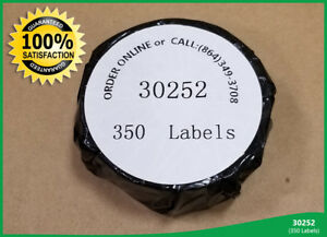 12 Rolls Of 30252 350 Address Labels For Dymo Labelwriters File Folder Tag