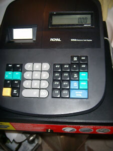 Royal 500dx Electronic Cash Register All Paper Work Instructions No Key Org Box