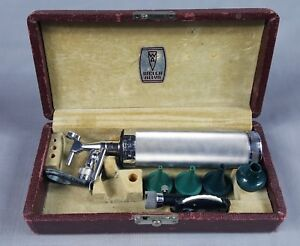 Vintage 1935 Allyn Welch Otoscope Ophthalmoscope Diagnostic Ear Scope W Box