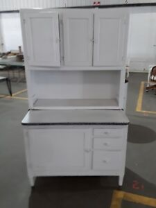 Antique Oak Hoosier Cabinet Napanee