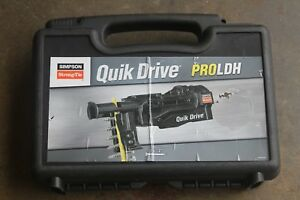 Simpson Strong tie Pro Ldh Quick Drive System