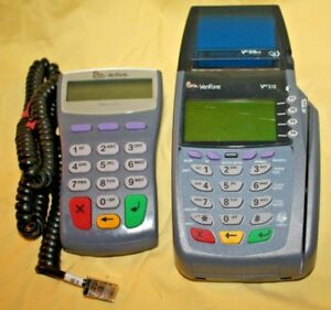 Verifone Vx510 Omni 5100 Credit Card Terminal Pinpad 1000se No Power Supply