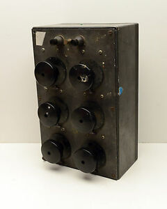 Vintage Decade Resistor Box Ohms High Quality Build
