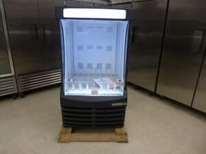 New Bz13 1 b Black 30 Grab N Go Led Open Pop Soda Refrigerator Cooler Display
