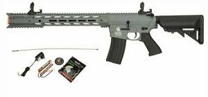 GREY Lancer Tactical Interceptor Gen 2 SPR Airsoft Rifle 9.6v Charger $187.00